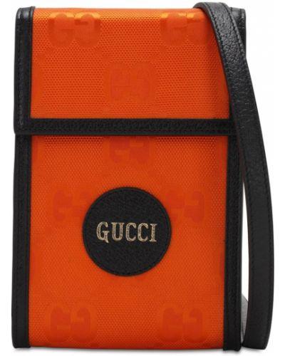 Skórzany torba Gucci