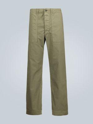 Армейские прямые брюки хаки новогодние Rrl