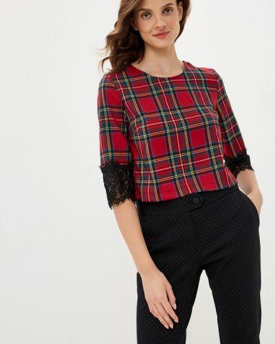 Красная блузка с длинным рукавом с длинными рукавами Imperial