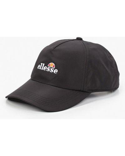 Черная бейсболка Ellesse