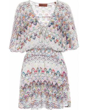 Платье мини вязаное легкое Missoni Mare