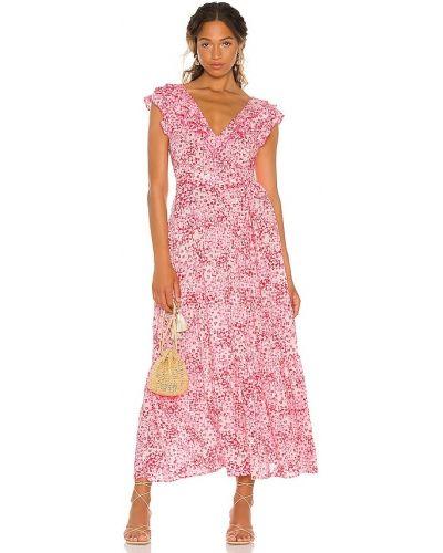 Платье макси - розовое Poupette St Barth