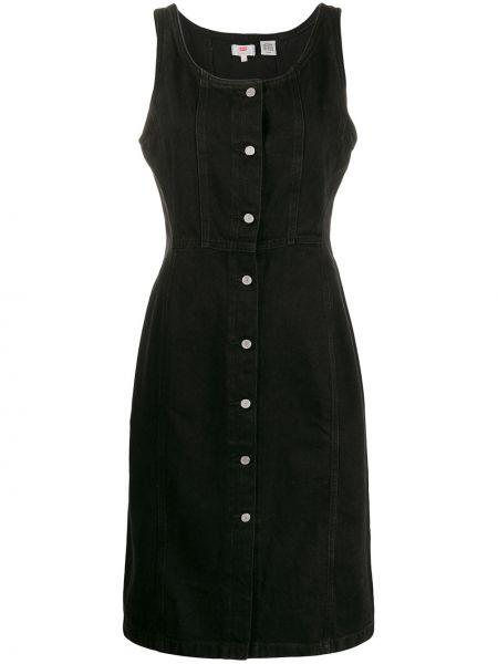 Черное платье миди на пуговицах Levi's®