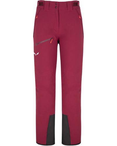 Спортивные брюки из полиэстера - розовые Salewa