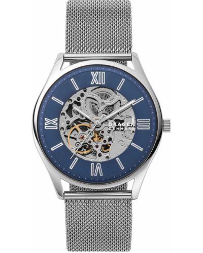 Zegarek kwarcowy srebrny Skagen