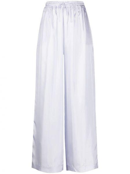 Свободные брюки палаццо с поясом Roberto Collina