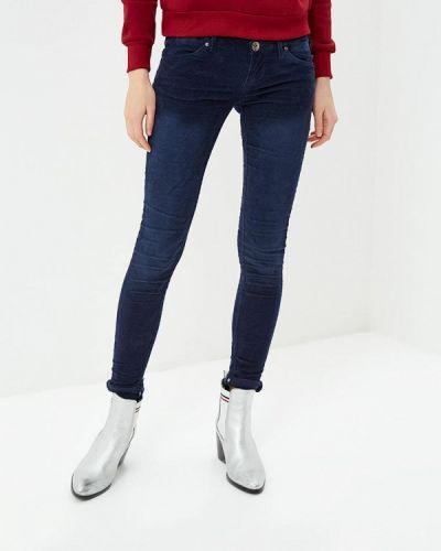 Синие брюки повседневные Alcott