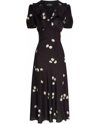 Платье миди с завышенной талией на пуговицах The Marc Jacobs