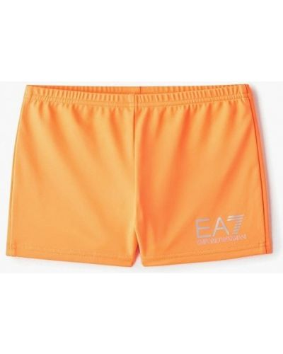 Плавки оранжевый Ea7