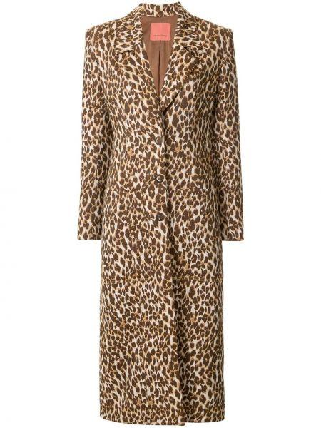 Однобортное пальто с капюшоном Manning Cartell