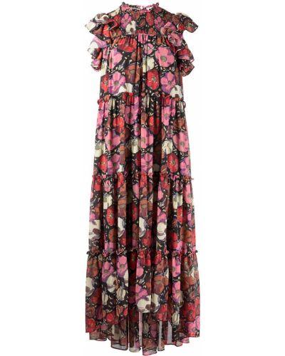 Платье в цветочный принт Cinq À Sept