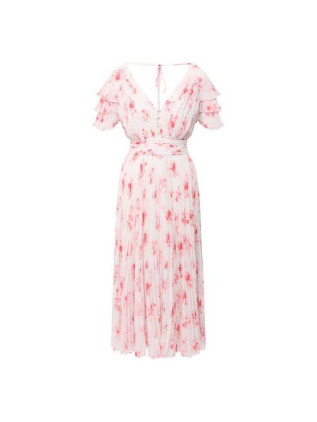 Розовое платье с подкладкой Self-portrait