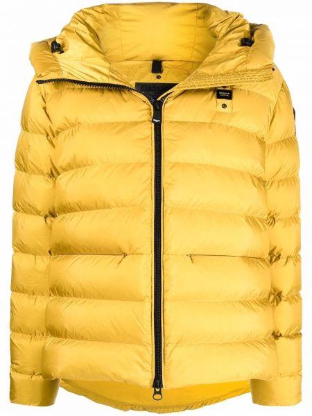 Стеганая куртка - желтая Blauer