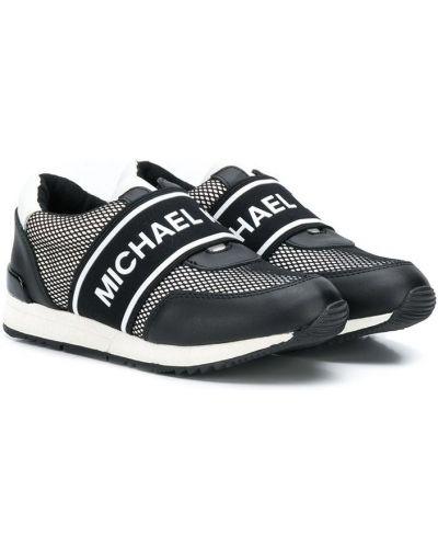 Черные кроссовки Michael Kors Kids