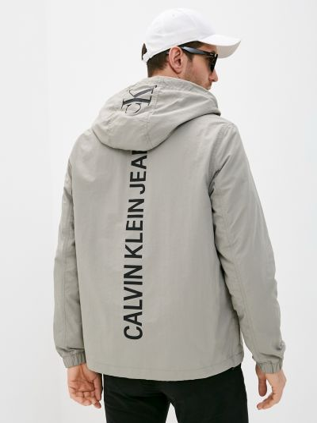 Джинсовая куртка - серая Calvin Klein Jeans