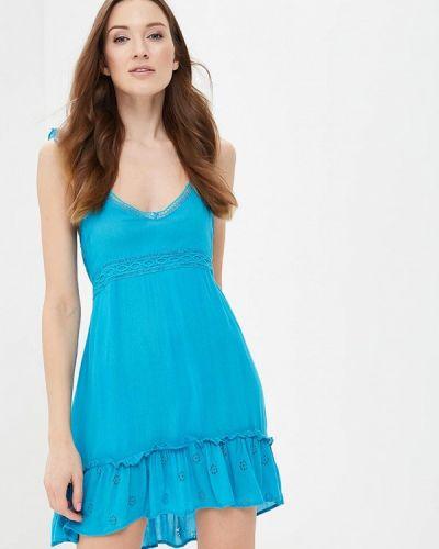 Голубое платье River Island