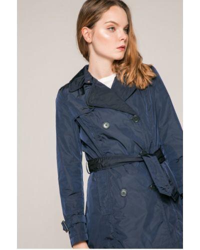 Утепленная куртка прямая с поясом Geox