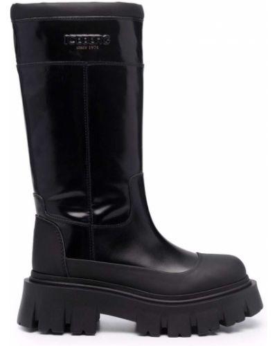 Черные резиновые ботинки Iceberg