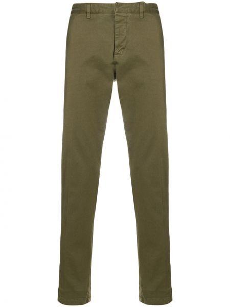 Классические брюки - зеленые Ami Paris