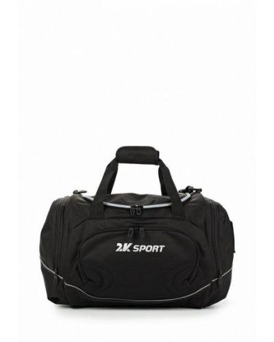 Черная спортивная сумка 2k