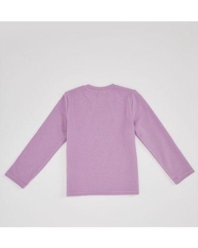 Фиолетовый свитер Defacto