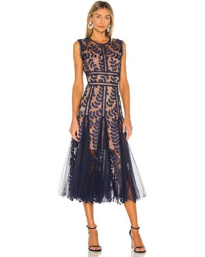 Кружевное платье миди Bronx And Banco