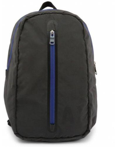 Szary plecak sportowy Armani Exchange