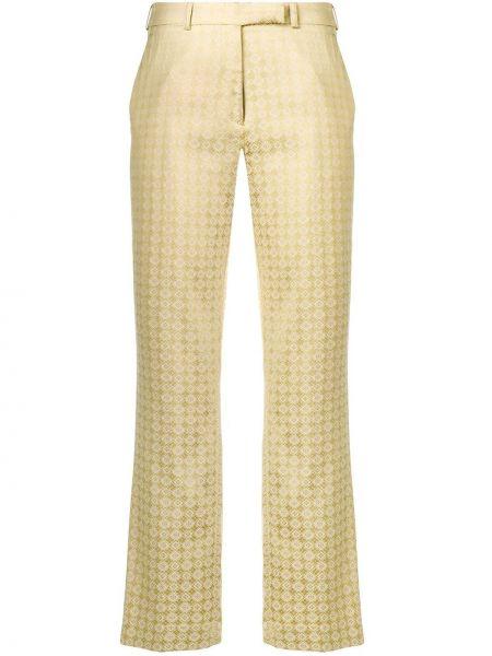 Spodnie z kieszeniami z paskiem Etro