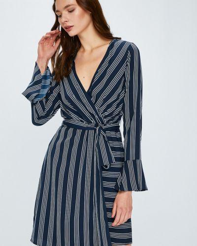 Платье мини с запахом с длинными рукавами Vero Moda