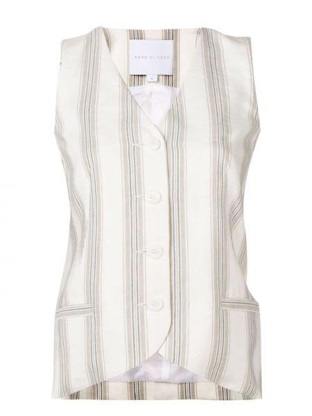 Классическая жилетка с карманами на пуговицах Noon By Noor