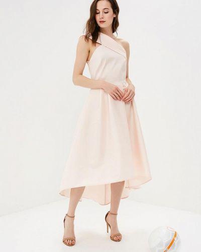Розовое коктейльное платье Imperial