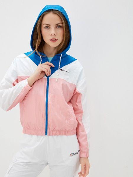 Куртка весенняя розовая Champion