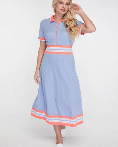 Платье - голубое Ricamare