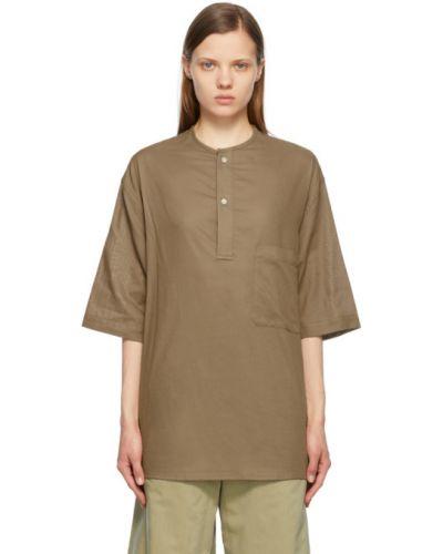 T-shirt bawełniany krótki rękaw Lemaire