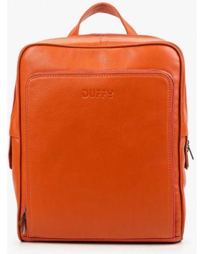 Оранжевый городской рюкзак Duffy