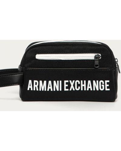 Kosmetyczka, czarny Armani Exchange