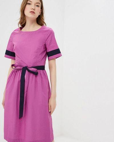 Прямое розовое платье Baon