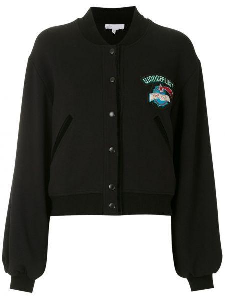 Черная куртка из вискозы Nk