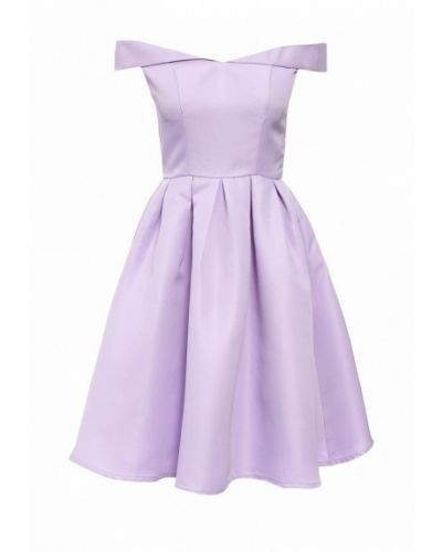 Фиолетовое коктейльное платье Chi Chi London