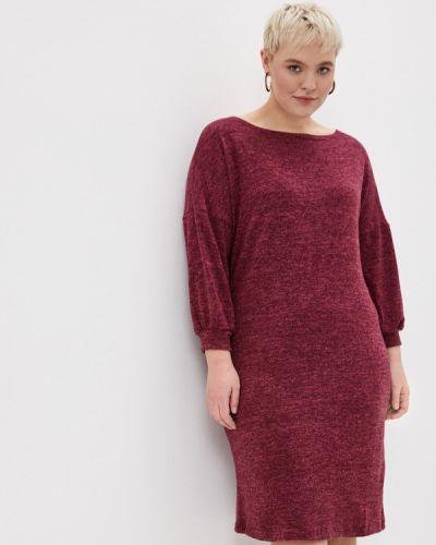 Красное платье-свитер Malena