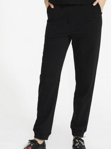Черные брюки с воротником Lo