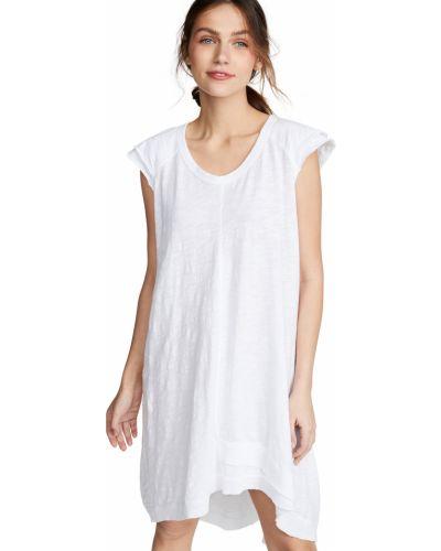 Платье рубашка - белое Wilt