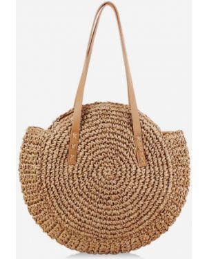 Пляжная сумка соломенная на плечо Zaful