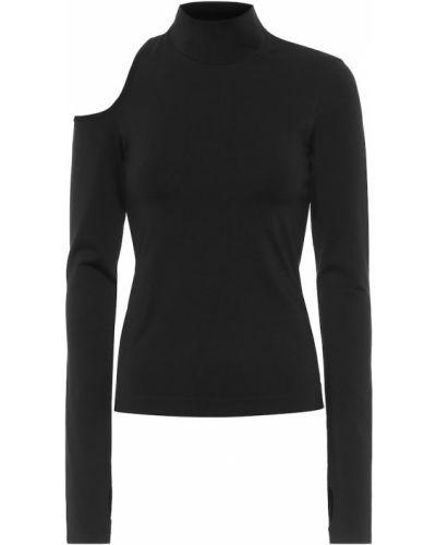 Nylon czarny sweter Helmut Lang
