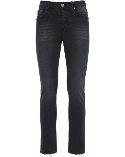 Czarne jeansy Other
