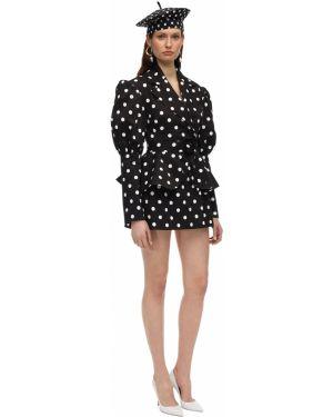 Платье макси в горошек на пуговицах Marianna Senchina