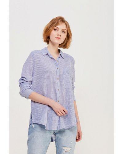 Синяя блузка Free People