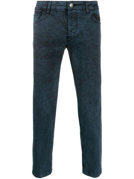 Синие классические джинсы варенки на пуговицах с карманами Entre Amis