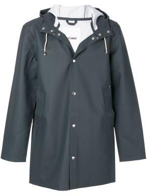 Płaszcz przeciwdeszczowy z długimi rękawami bawełniany z kapturem Stutterheim