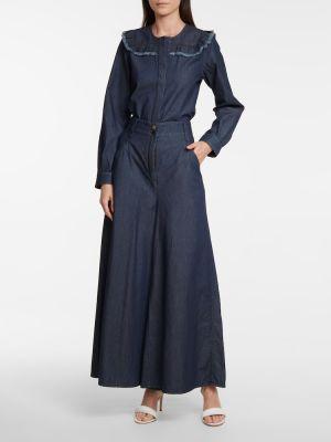 Niebieskie jeansy bawełniane Dorothee Schumacher